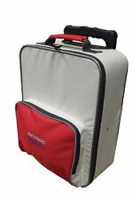 Skyroc Junior Trolley Kinder-Trolley Kinderkoffer rot/grau