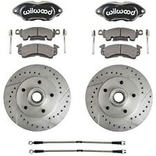 1970-78 GM Wilwood Front Disc Brake Conversion Kit W/ Braided Hoses