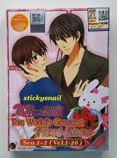 Anime DVD Sekai Ichi Hatsukoi The World's Greatest First Love Season 1+2 + Movie