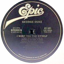 "George Duke ‎– I Want You For Myself / Party Down - 12"" INCH"