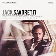 JACK SAVORETTI SLEEP NO MORE CD (Released 28th OCTOBER 2016)