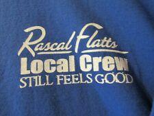 Local Crew Xl T Shirt From Rascal Flatts Still Feels Good Tour Bx#3