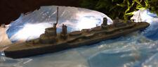 Modellschiff Kriegsschiff Schiff Metall alt 1:1250 MSA#5