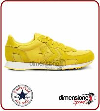 ALL STAR SCARPE CONVERSE GIALLE TG 37 AUCKLAND RACER 152676C SNEAKERS UOMO DONNA