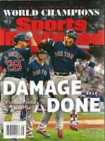 Sports Illustrated 2018 Boston Red Sox World Series Commemorative Magazine