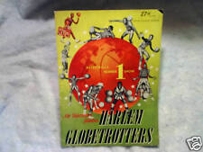 1953-54 THE HARLEM GLOBETROTTERS Yearbook abe saperstein