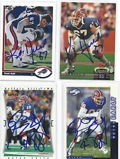 Quinn Early Signed / Autographed Football Card Buffalo Bills 1997 Score