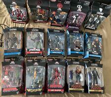 Huge Marvel Legends Lot 15 Figures New Deadpool Thor X-men Captain Marvel