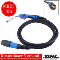 4Meter Profi Schutzgas Schlauchpaket Schweißbrenner Brenner Euro MB25 MIG MAG A/_