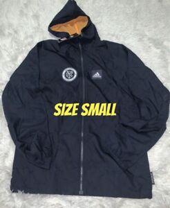 New York City FC adidas Primeblue Full-Zip Jacket - Navy S SMALL