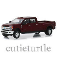 Greenlight 2019 Ford F-350 Lariat King Ranch Dually 1:64 Ruby Red 46010 D