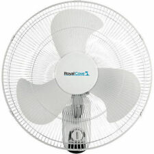 Royal Cove 2477855 18in 3-speed Oscillating Wall Mount Fan