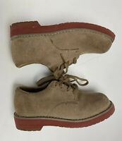 Sperry Top Sider Tevin Boys Shoes Oxford Toddler Size 10W Suede Leather *read*