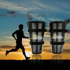 Pair of Adjustable Ankle Leg Weights Strap Support Exercise Fitness Z2D9