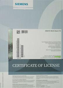 Siemens Simatic TIA PORTAL WinCC V16 Basic 6AV2100-0AA06-0AA5  NEU
