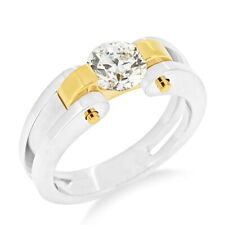 For Women Size 5 6 7 8 9 0.50 Ct Real Diamond Solid 950 Platinum Engagement Ring