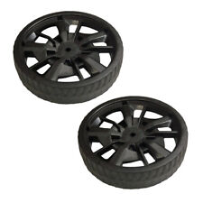 Ryobi 2 Pack of Genuine OEM Replacement Front Wheels # 099749004032-2PK