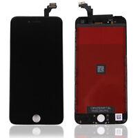 ECRAN LCD SUR CHASSIS + VITRE TACTILE IPHONE 6 / 6 PLUS NOIR BLANC + OUTILS