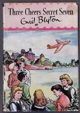 Three Cheers Secret Seven, Enid Blyton  - 1957, Brock Book, HB with Dust Jacket