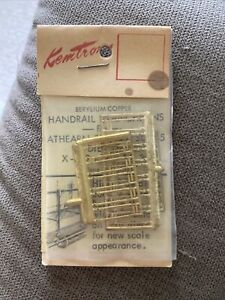 Ho Scale Athearn Brass Handrail Stanchions SDP-40 SD-45 Diesels X-789