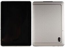Skinomi Carbon Fiber Silver Skin+Screen Film for Motorola XOOM 2 Family Edition