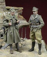 1/35 Scale resin model kit WW2 Polish LWP Soldiers, Berlin 1945