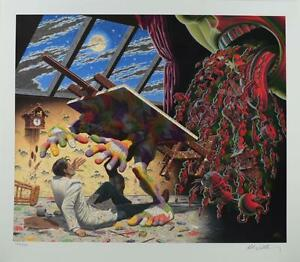 ROBERT WILLIAMS CREATION TRUMPS CREATOR SIGNED NUMBERED LIMITED EDITION PRINT