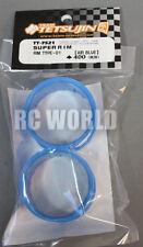 RC Car 1/10 DRIFT WHEELS RIMS Adjustable Offset  3mm-6mm-9mm -BLUE LIP -4 RINGS