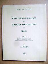 Généalogie Maisons souveraines Les Bonaparte lignée masculine tome VII /D7