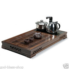 Large tea tray Wenge wood tea table for Kungfu tea set tea boat induction cooker