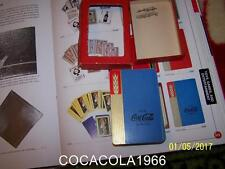 RARE Blue 1930's Coke Playing Coca Cola Cards SET Complete WHEAT Deck LTD Bottle