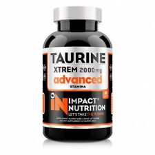 TAURINE XTREM ADVANCED impact nutrition 60 gelules