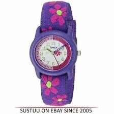 Timex Kidz T89022  Flowers Time Teacher Watch|Flower Strap|Analogue Display|NEW