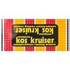 1980-82 Kos Kruiser Mongoose decal set