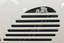 Vespa GTS GTV GT side vent Extension Mouse Family sticker Decal Laminated