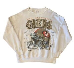Vintage 90s San Francisco 49ers Shirt Xplosion Football Crewneck Sweater Sz XL