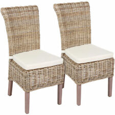 Unbranded Wicker Dining Room Chairs
