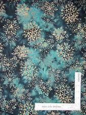Christmas Snowflake Cotton BATIK Fabric Hoffman Indonesian L2661Spearmint - YARD