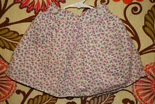 TODDLER GIRLS CHEROKEE MULTI COLOR FLORAL SKIRT SIZE 4T LINED 100% COTTON