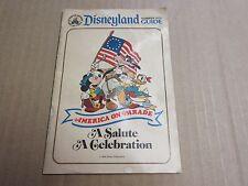 Vintage Disney Summer 1975 Disneyland Guide Map