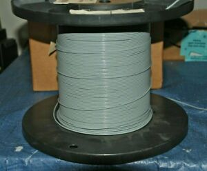 Wire Mil-Spec (PTFE) 26 AWG 1 Cond, Shielded Silver Plated Copper Stranded 10ft