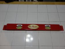 Door push bar TIM HORTON'S Retro Antique Soda Advertising sign