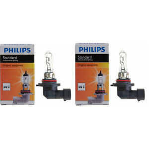 2 pc Philips High Low Beam Headlight Bulbs for Ford Explorer Police qo