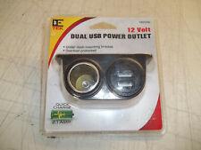 New listing Dual Usb Power Outlet Dc 12V Socket Plug Adapter