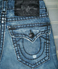*HOT AUTHENTIC TRUE RELIGION @ BILLY SUPER T BOOTCUT Jeans 28 x 31 (Fit 29 x 31)