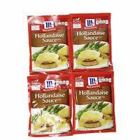 McCormick Hollandaise Sauce Mix 1.25 Oz Exp 1/21 Lot of 4 Packets