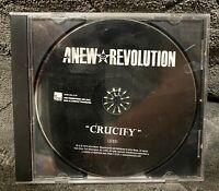 Audio CD - ANEW REVOLUTION - Crucify - DJ PROMO SINGLE - New