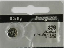 Energizer  329 SR731SW Button Cell Silver Oxide Watch Battery, 1Pc