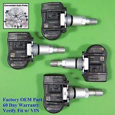 Set of 4 Mazda TIRE PRESSURE SENSOR MONITOR TPMS OEM BHA4-37140 315 MHz SET-TS53