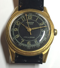 Vintage Russian Men's Watch Military USSR RODINA AUTOMATIC 22 jewels Black 1MWF